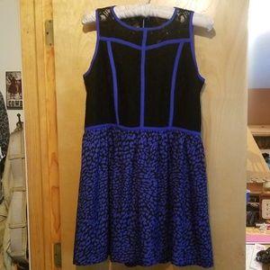 Kensie mini dress zip back